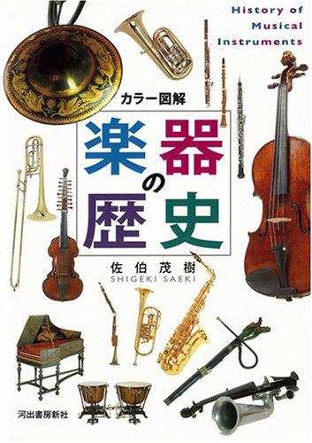カラー図解 楽器の歴史の詳細を見る