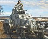 ルビコンモデル 1/56 ソ連軍 BA-10 装甲車 プラモデル RB0085