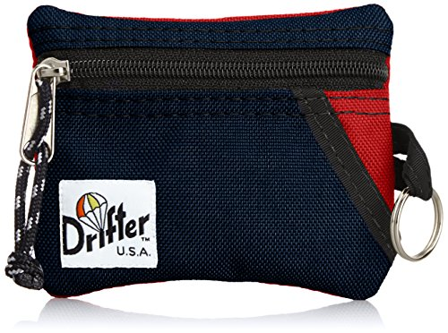 [ドリフター] Drifter KEY COIN POUCH DF0230U4 RED × NAVY (レッドネイビー)