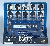ビートルズ フィギュア Factory The Beatles A Hard Day's Night Album Cover Double Decker Bus 2009 VHTF [並行輸入品]