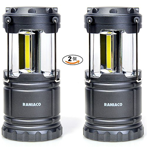 Raniaco LEDランタン 明るい 携帯型 折り畳み式 ...