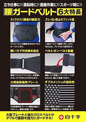 FC 腰ガードベルト S-Mサイズ 男女兼用