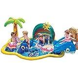 バンザイ ベービー スプリンクル ウォータパーク 小さなお子様用 対象年齢18ヶ月以上 滑り台つき banzai baby sparkles water park [並行輸入品]