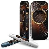 iQOS 2.4 plus 専用スキンシール COMPLETE アイコス 全面セット サイド ボタン スマコレ チャージャー カバー ケース デコ 写真・風景 写真 ギター 006329