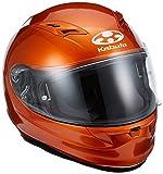 オージーケーカブト(OGK KABUTO)バイクヘルメット フルフェイス KAMUI2 シャイニーオレンジ (サイズ:L)