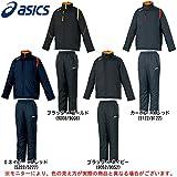 asics(アシックス) ウォーマー 上下セット XAW30K/XAW40K メンズ スポーツ トレーニング バックウォーム 防寒 (O, カーボン×Aレッド(9122/9122))