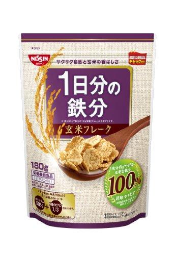 1日分の鉄分 玄米フレーク 180g