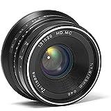 7artisans 25mm F1.8 Manual Focus Prime Fixed Lens for Fujifilm Fuji Cameras X-A1 X-A10 X-A2 X-A3 X-at X-M1 XM2 X-T1 X-T10 X-T
