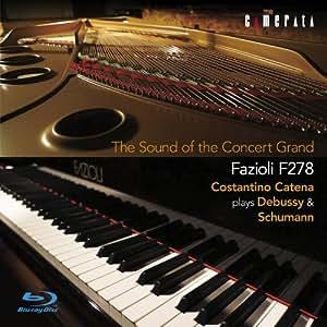 至高のコンサートグランド ドビュッシー&シューマン:ピアノ作品集(Blu-ray Disc)