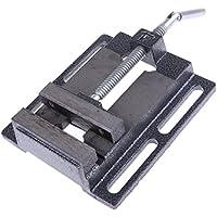SM SunniMix 金属 ミニサイズ テーブルバイス ドリルプレスバイス ホビー用ツール 全3サイズ - 5.25インチ