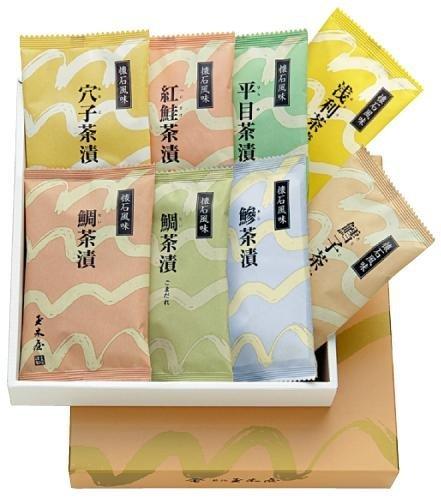 新橋玉木屋 懐石茶漬詰合せ(8袋入り) C-8