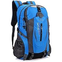 EFFECT アウトドア 登山 リュック サック 多機能 バックパック スポーツバッグ 通気性 大容量 防水 軽量 ハイキング トレッキング キャンプ