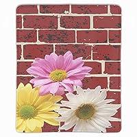 マウスパッド ゲームパッド ゲームプレイマット レンガデイジーの花