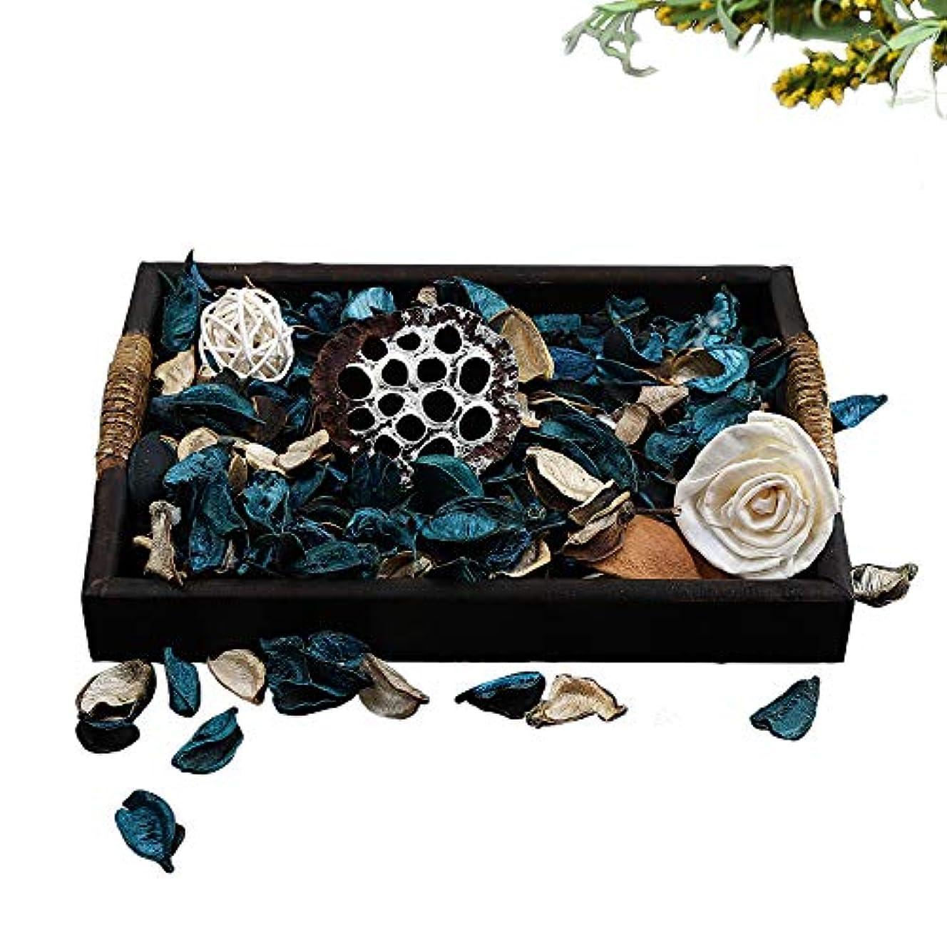 たまに今後木Qingbei Rina ポプリ 青色 300g 海のポプリ ギフト 手作りの自然素材
