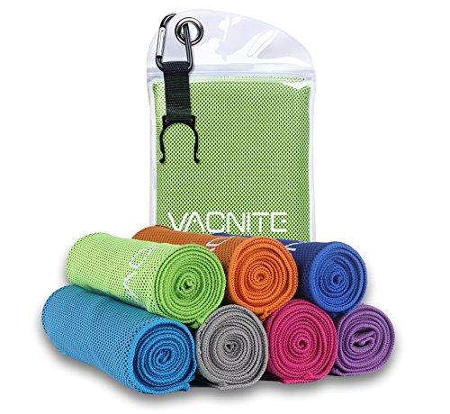 VACNITE クールタオル 速乾タオル 超吸水 軽量 速乾...