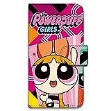 パワーパフガールズ HTC J butterfly HTL23 ケース 手帳型 プリント手帳 デザインA-C (ppg-003) カード収納 スタンド機能 WN-LC262577-L