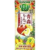 カゴメ 野菜生活100 青森りんごミックス 195ml×24本