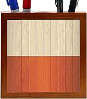 Rikki Knight Poland Flag on Distressed Wood Design 5-Inch Wooden Tile Pen Holder (RK-PH8593) [並行輸入品]