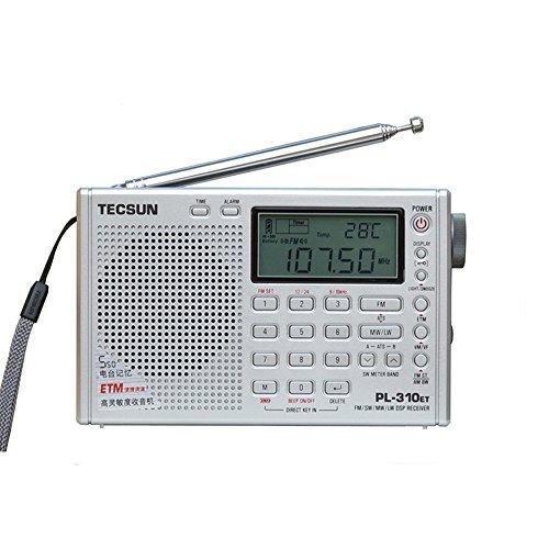 [해외]XHDATA® TECSUN PL310ET 라디오 FM 스테레오 | MW | LW | SW 월드 밴드 PLL DSP 라디오 PL310ET/XHDATA® TECSUN PL-310ET Radio FM Stereo | MW | LW | SW World Band PLL DSP Radio PL310ET