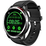 NiceFuse Smart Watch, Fitness Tracker with Heart Rate Monitor Blood Oxygen Saturation Meter Sleep Monitor, Waterproof Smartwa