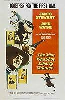 The Man Who Shot Liberty飾り布ポスター映画27x 40インチ–69cm x 102cm ( 1962年) (スタイルB )