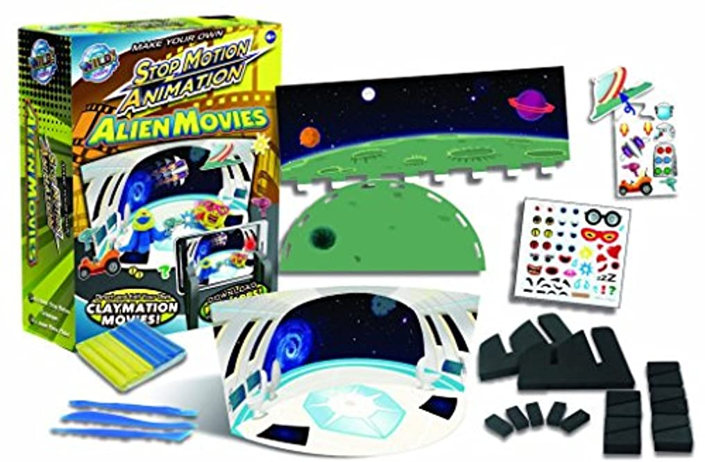Alien Stop Motion Animation Kit - Explore the Art of Animation