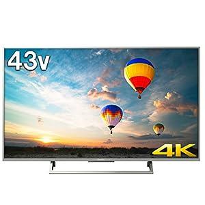 ソニー SONY 43V型 テレビ ブラビア KJ-43X8000E S 4K対応 (2017年モデル)