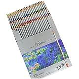 カラーペン,MARCOマルコ 大人の塗り絵 色鉛筆7100 ペンシル (72色)