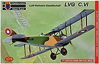 KP model 1/72 ドイツ軍 LVG C.6 チェコスロバキア/ソ連 プラモデル KPM0071
