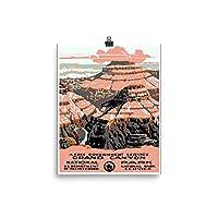 ヴィンテージポスター–Grand Canyon 0540–Enhancedマット紙ポスター 8x10