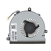 のための新しいCPU冷却ファンCPU冷却ファンクーラーfor HP 15-ay157cl 15-ay145nr 15-ay127cl 15-ay122cl 15-ay127ca 15-ay130nr 15-ay115cy 15-ay128ca 15-ay117cl 15-ay113cy 15-ay00015-ay00115-ay002