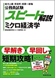 公務員試験 スピード解説 ミクロ経済学