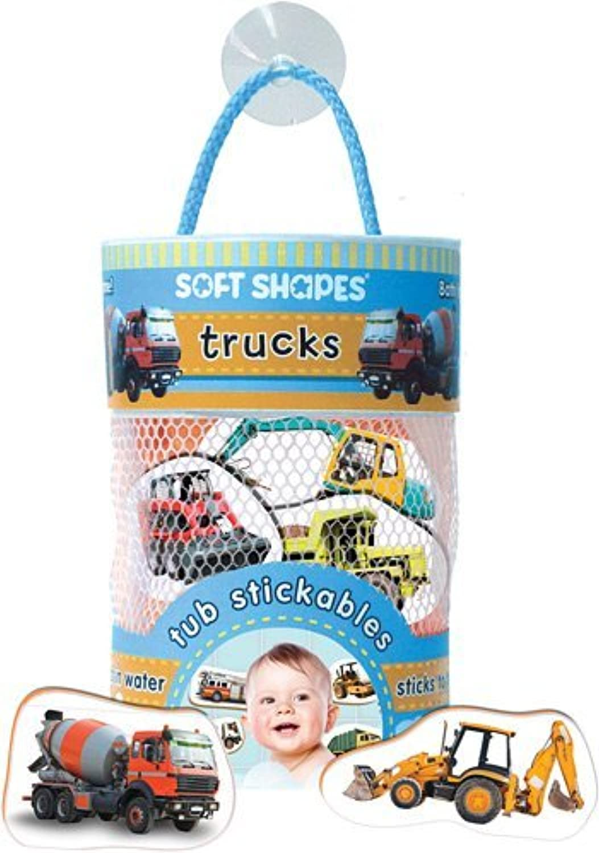 Innovative Kids Soft Shapes Photography Tub Stickables Trucks Playset by Innovative Kids [並行輸入品]