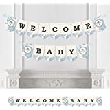 Precious Cargo - Blue - Baby Shower Bunting Banner - Boy Party Decorations - Welcome Baby [並行輸入品]