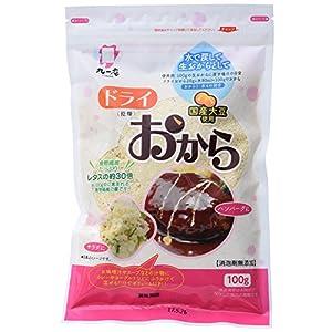 九一庵食品 国産大豆使用 ドライおから 100g