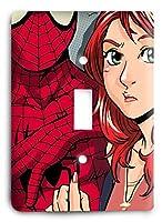スパイダーマン Loves Mary Jane v2 ライトスイッチカバー