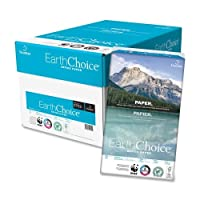 "Wholesale CASE of 5 – Domtar EarthChoice chlorine-free paper-copyコピー用紙、92明るい、20lb。8 – 1 / 2 "" x14 , "" 500 / CT、ホワイト"