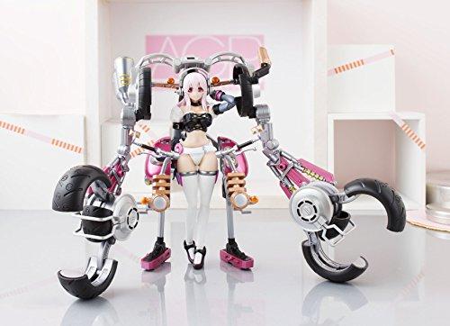 アーマーガールズプロジェクト すーぱーそに子 with すーぱーバイクロボ ( 10th Anniversary ver.) 約140mm ABS&PVC製 塗装済み可動フィギュア