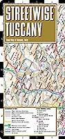 Streetwise Tuscany Map - Laminated Road Map of Tuscany Italy - Folding pocket size travel map [並行輸入品]