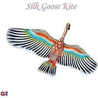 3dホワイトWings Goose Kite – Chinese手作りシルクKites