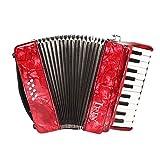 ammoon ピアノアコーディオン 8ベース 3色選択 22鍵 楽器 初心...