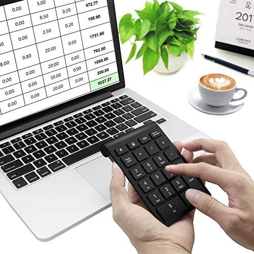 『Bluetooth テンキー、Rytakiポータブルワイヤレスブルートゥース22-キーナンバーキーパッド。ラップトップ、デスクトップ、PC、ノートブック向けの会計データー入力タイプ』の5枚目の画像