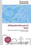 Wikipedia: Manual of Style