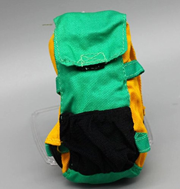 HuaQingPiJu-JP 人形ボーイフレンドオフロードクライミングスポーツスクールバッグ(グリーン)