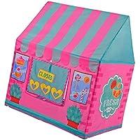 B Blesiya 2カラー選択 軽量 折り畳み式 家装飾 寝具 キッズテント 子ども 遊びテント 遊び場 おもちゃ ポップアップテント - ピンク