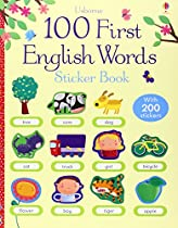 100 First English Words Sticker Book (100 First Words Sticker Books)