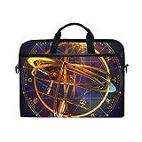 ノートパソコンケース 星座 十二 宇宙 タブレットバッグ 15インチ 15.4 衝撃吸収 軽量 旅行 プレゼント LAKIO