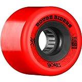ボーンズ BONES WHEEL ボーンズ ATF ROUGH RIDER RED 56mm SKATEBOARD スケートボード スケボー ソフトウィール [並行輸入品]