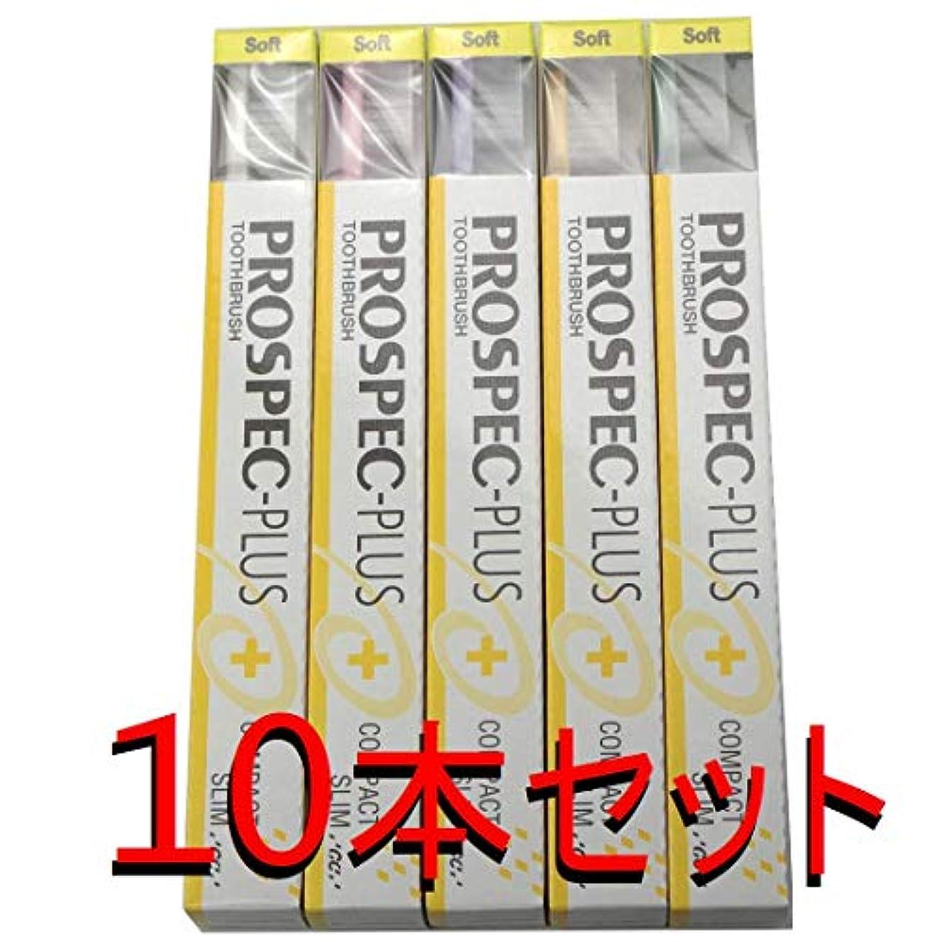 パックリングおとなしいGC プロスペック 歯ブラシプラス コンパクトスリム S (10本セット)