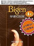 ホーユー ビゲン ヘアカラー 4G (自然な栗色) 1剤40mL+2剤40mL [医薬部外品]